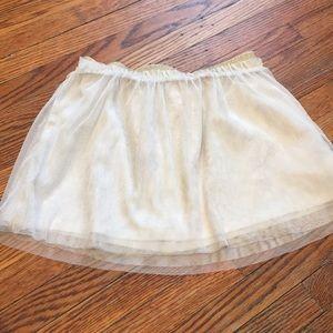 Old navy glitter skirt